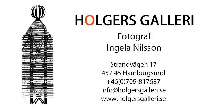 Kontakt till Holgers Galleri