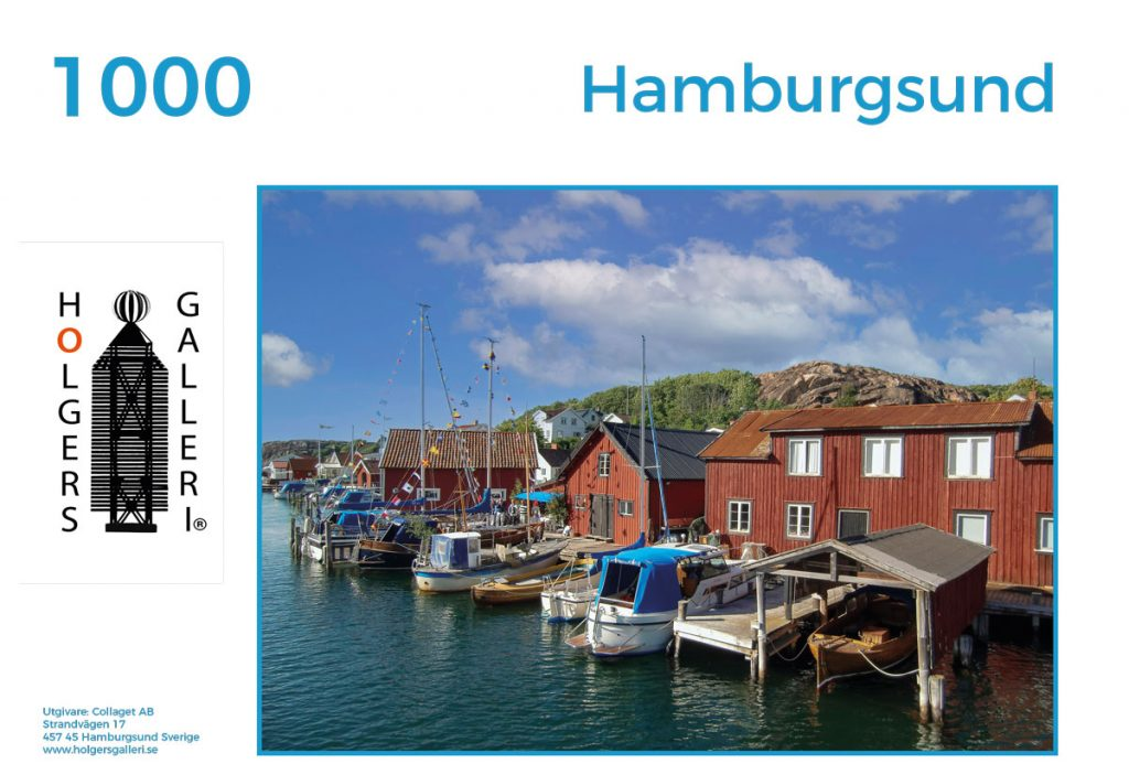 Pussel över Hamburgsund